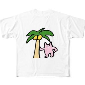 ピンクのやつ Full graphic T-shirts