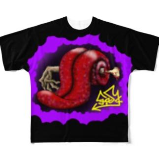 トイレットべーパー Full graphic T-shirts