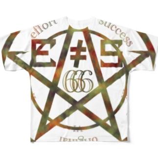 effort not success(迷彩) Full graphic T-shirts