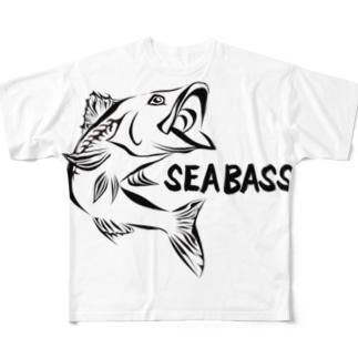シーバス(英語バージョン) Full graphic T-shirts