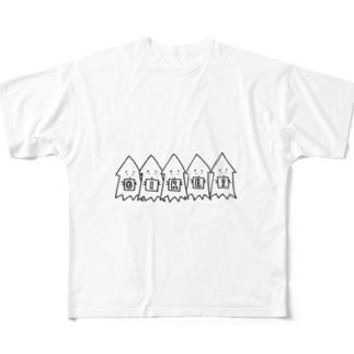 モンゴイカT Full graphic T-shirts