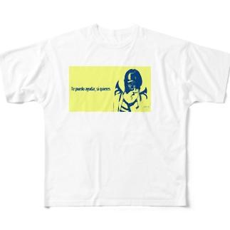 Armor Yellow Full graphic T-shirts