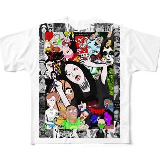 僕の周りグッズ Full graphic T-shirts
