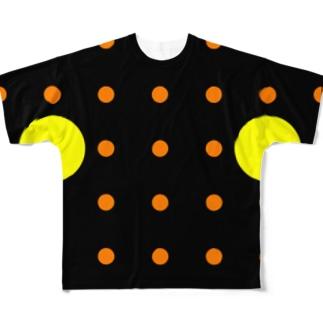よシまるシンの全ドットマン Full graphic T-shirts