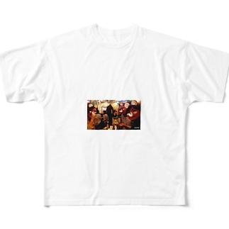 流行に乗った悪ノリ Full graphic T-shirts
