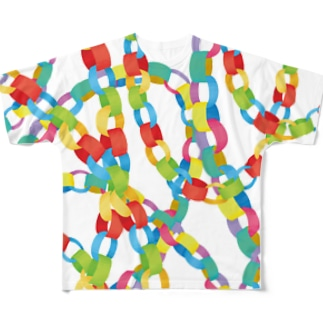 paper chain Full graphic T-shirts