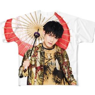 蓮太郎推しTシャツ Full graphic T-shirts