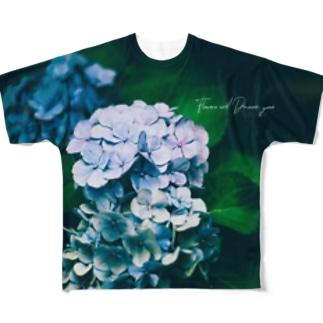 【EViL】Grandma's favorite flower2020.6.18 Full graphic T-shirts