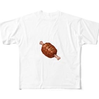肉 Full graphic T-shirts