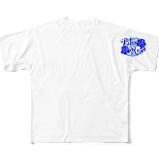 声劇project   †Bluerose† Full graphic T-shirts