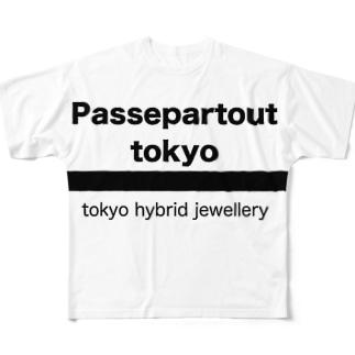 Passepartout Tokyo Full graphic T-shirts