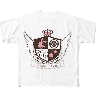天使クラスロゴ Full Graphic T-Shirt