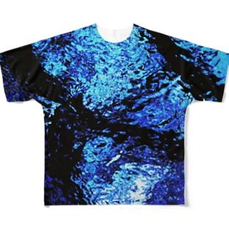 水の名前 Full graphic T-shirts