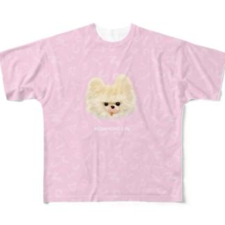 クリスピー Full graphic T-shirts
