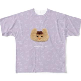 まえがみちゃん Full graphic T-shirts