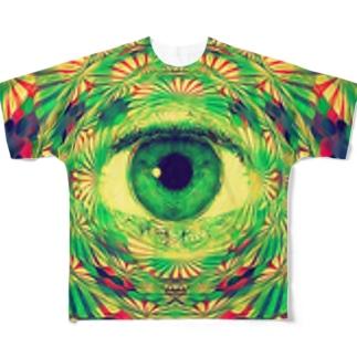 サイケデリック Tシャツ Full graphic T-shirts
