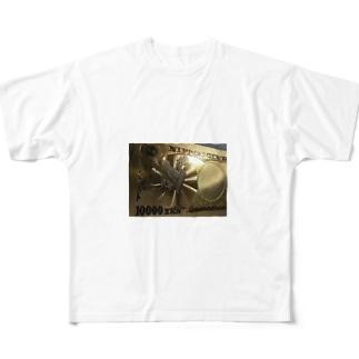 キンキラにさりげなく Full graphic T-shirts