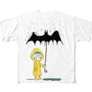 Georgie's new rainboots Full graphic T-shirts