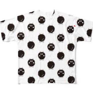いっぱいゴブゴブ Full graphic T-shirts