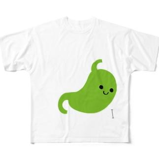 胃 Full graphic T-shirts
