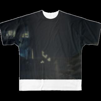 盲目泥棒のZAMA001 Full graphic T-shirts