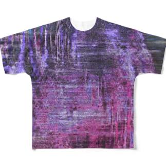 Purple Full Graphic T-Shirt