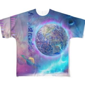 Aimurist revolution  Full graphic T-shirts