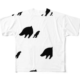 半バク フルグラフィックTシャツ