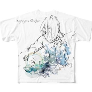 君に贈る愛の唄 Full graphic T-shirts