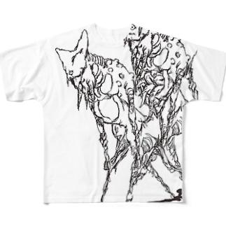 なんかのつがい Full graphic T-shirts