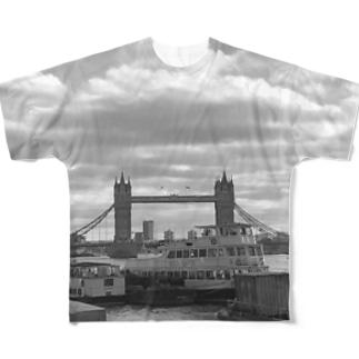 テムズリバー Full graphic T-shirts