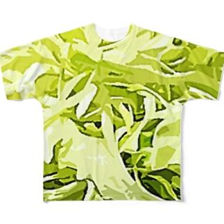 キャベツ千切り Full graphic T-shirts