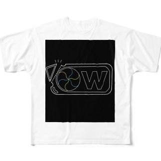 をるねるね (色なしVer.) Full graphic T-shirts