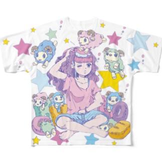 yumemiruko  Full graphic T-shirts