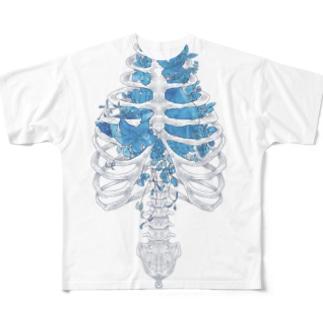 骨の髄まで愛してる Full graphic T-shirts
