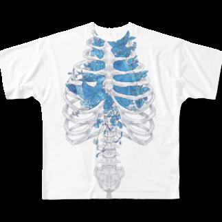 JelivMoonの骨の髄まで愛してる Full graphic T-shirts