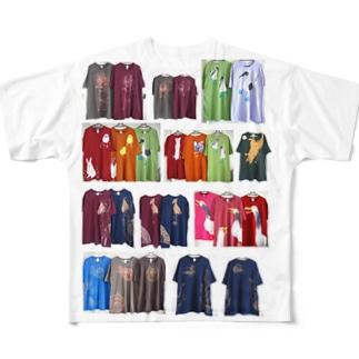 絵柄見本その2 Full graphic T-shirts