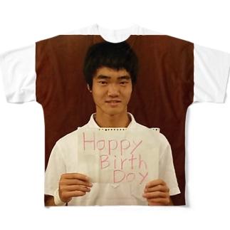 上田くんグッズ Full graphic T-shirts
