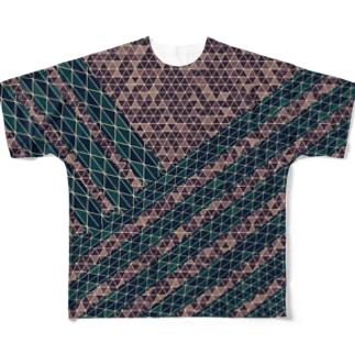 錯覚しやがれアイテム Full graphic T-shirts