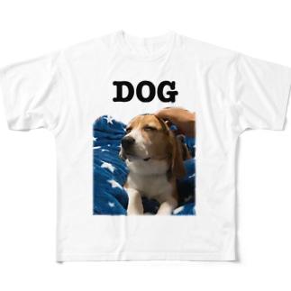 dog Full graphic T-shirts