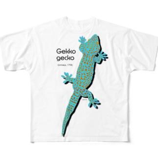 トッケイひっつき Full graphic T-shirts