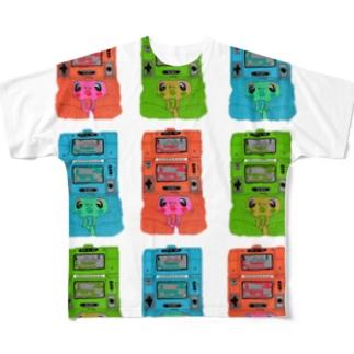 ゲームウォッチのおもしろさは異常 Full graphic T-shirts