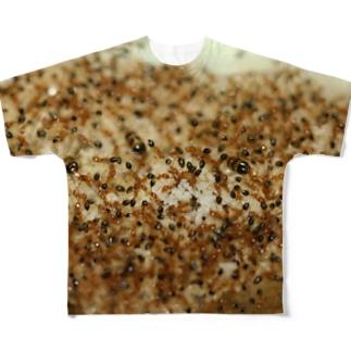 うじゃうじゃひめさん All-Over Print T-Shirt