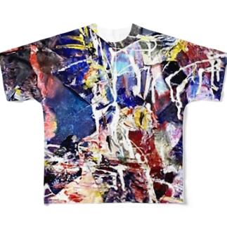 Killing ear CAT Full graphic T-shirts