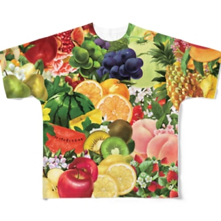 【forseason】フルーツ盛り合わせ Full graphic T-shirts