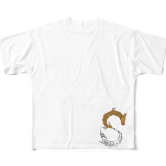 破壊と創生 Full graphic T-shirts