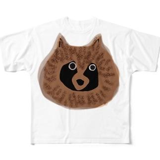 EZO TANUKI original Full graphic T-shirts