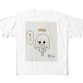 暑いのだが Full graphic T-shirts