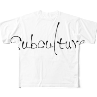 Subculture Full graphic T-shirts