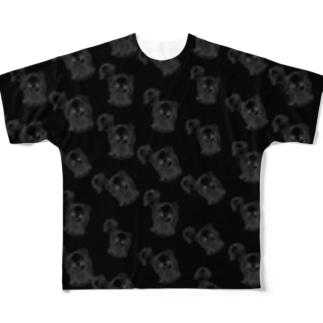 10周年記念Tシャツ🖤ミハビエ フルグラ🖤 Full graphic T-shirts